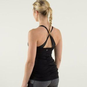 Lululemon Practice Daily Satin Straps with Bra Top
